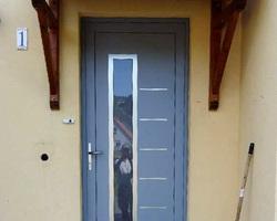 Lucarne - Guémar - Porte d'entrée
